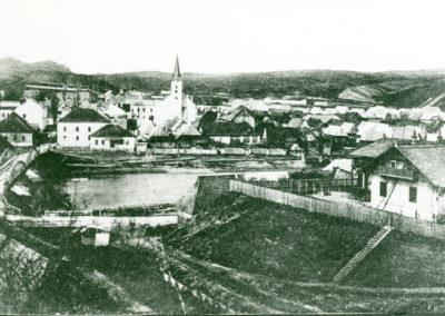 Podveling a Tvrdošín na prelome 19. - 20. storočia.