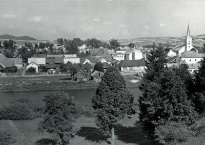 Mesto Tvrdošín začiatkom 20. storočia.